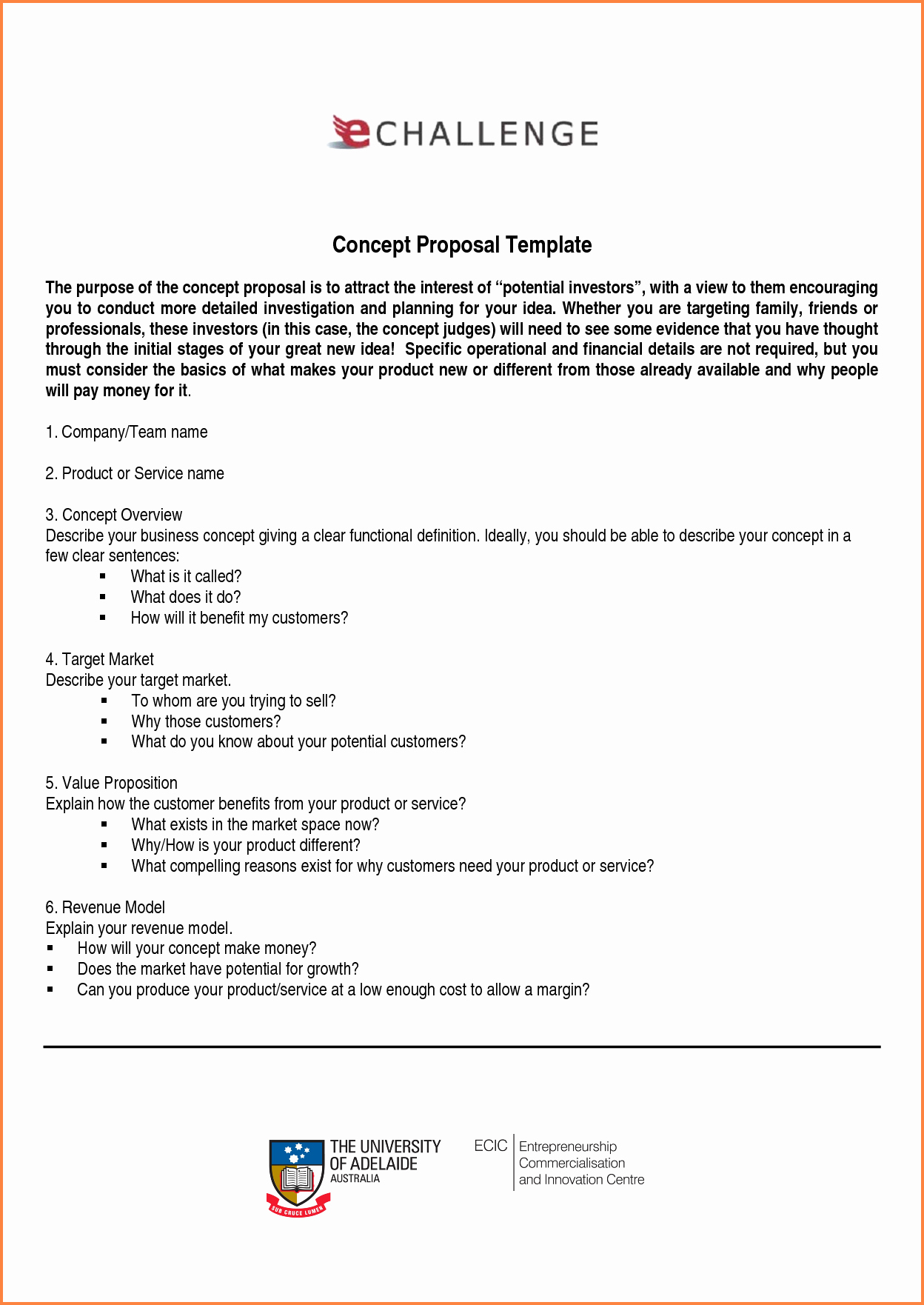 6 Sample Of Business Proposal Pdf