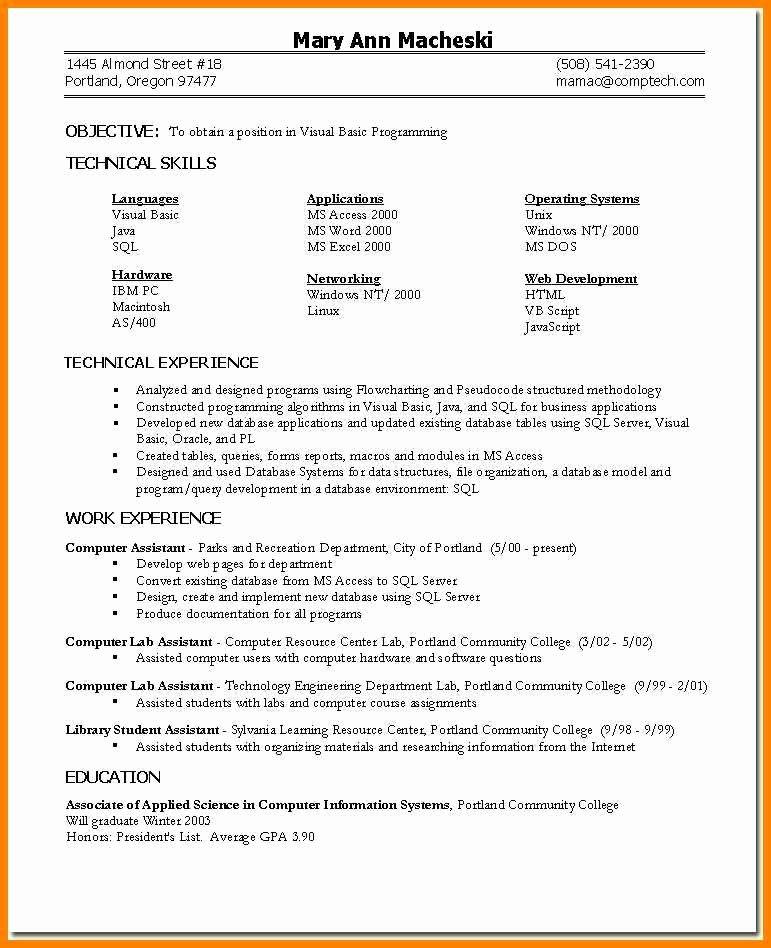 6 Skills Based Resume Templates