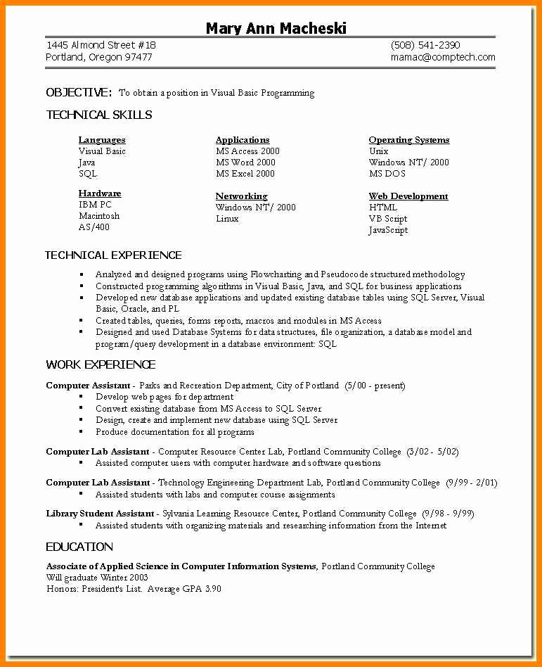 6 Skills Based Resume Templates