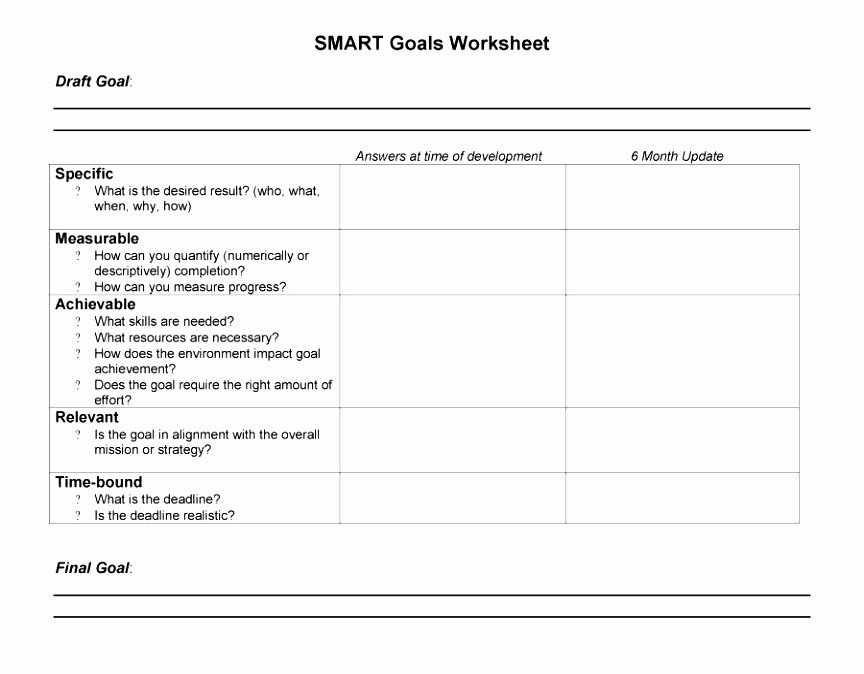 6 Smart Action Plan Template Word Poiwa