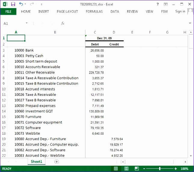 6 T Accounts Template Excel Exceltemplates Exceltemplates