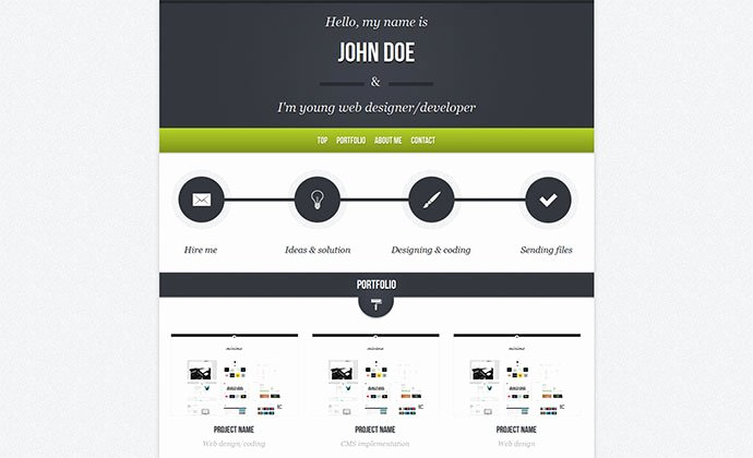 60 Best Single Page Website Templates