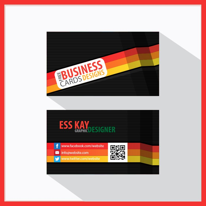 60 Business Card Template Designs Collection A Graphic