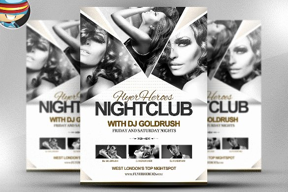 free psd flyer templates