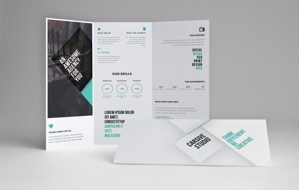 60 Free & Premium Psd Brochure Templates Webprecis