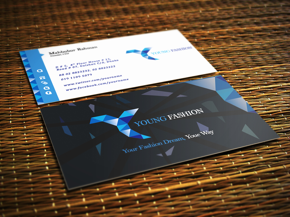 60 Free & Premium Psd Business Card Template