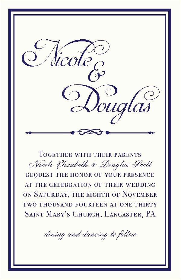 60 Wedding Invitations Design