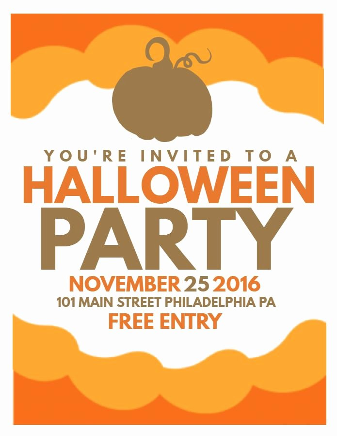 63 Best Halloween Party Flyer Templates Images On