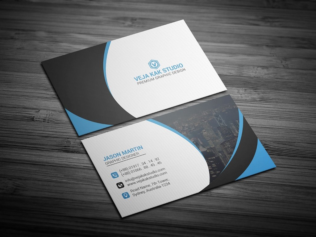 63 Free Best Business Card Templates Psd Download In 2018