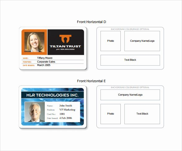 64 Amazing Id Card Templates to Download