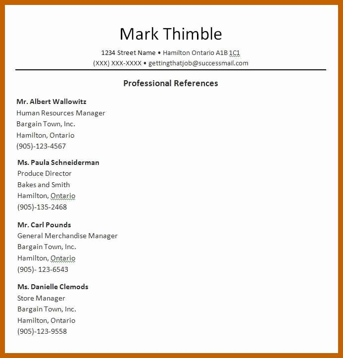 7 8 Job Reference Template