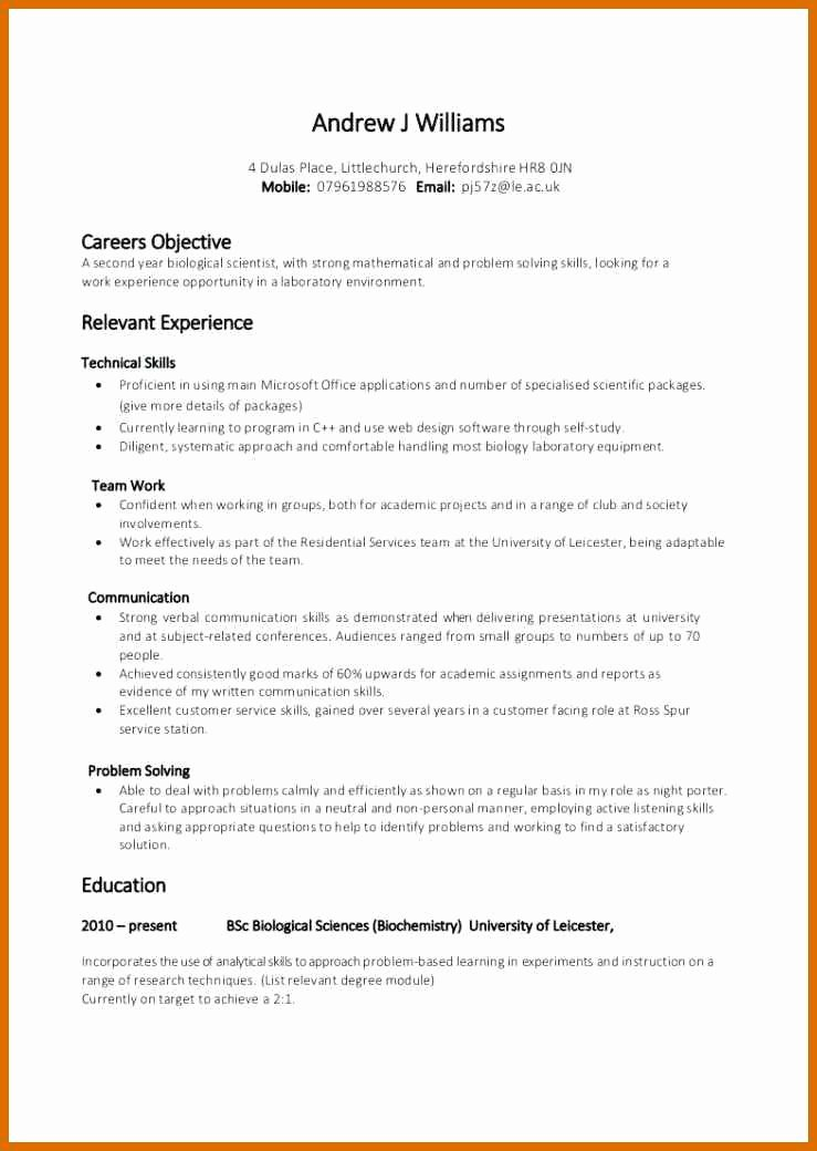 7 8 Skills for Resume Examples