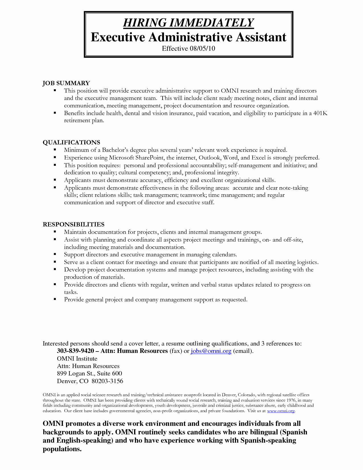 7 Administrative assistant Duties Resume