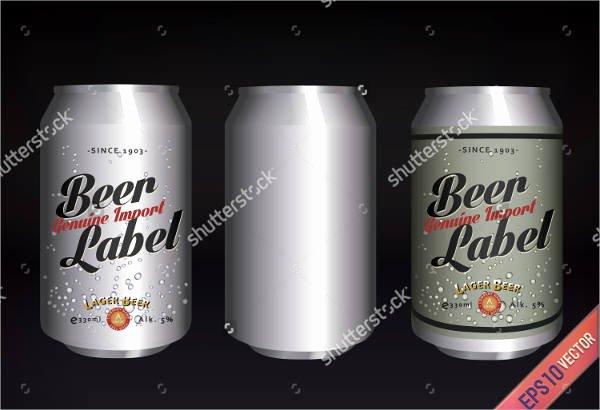 7 Beer Bottle Label Templates Design Templates