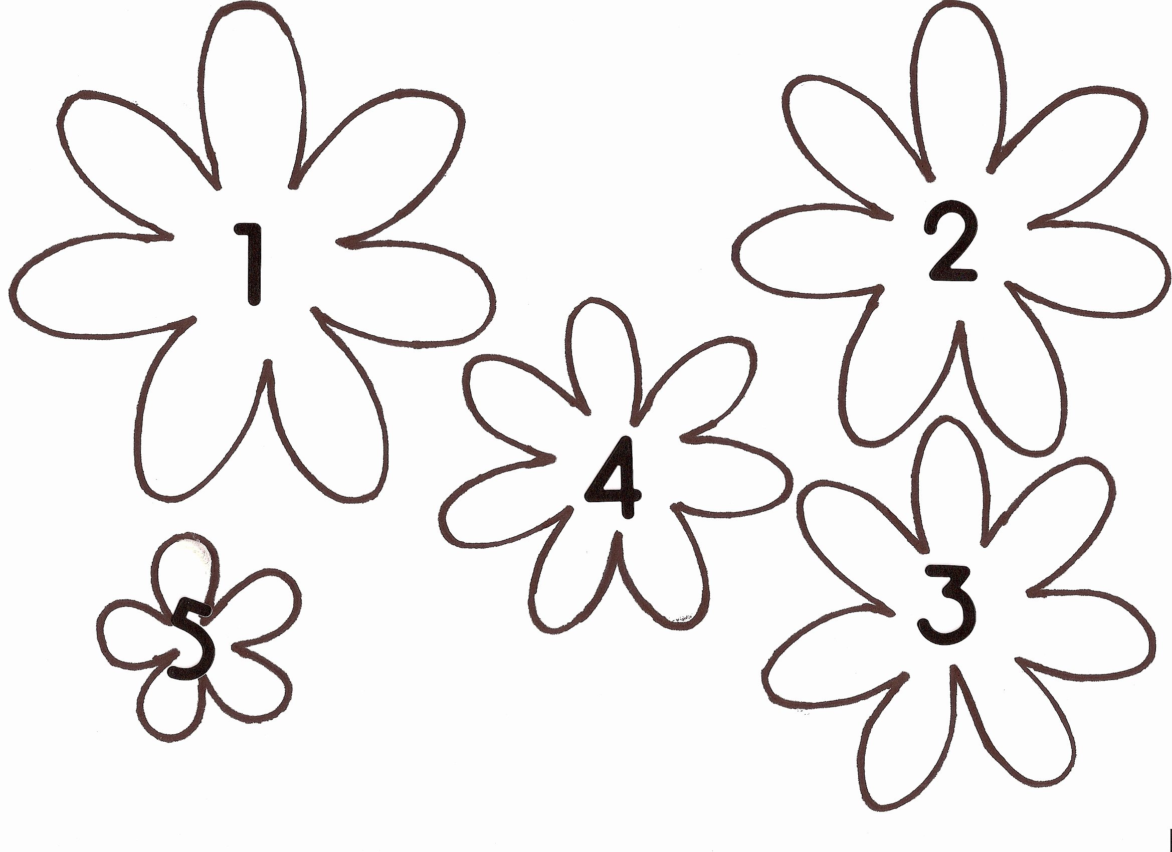 7 Best Of 3d Flowers Templates Printables Paper