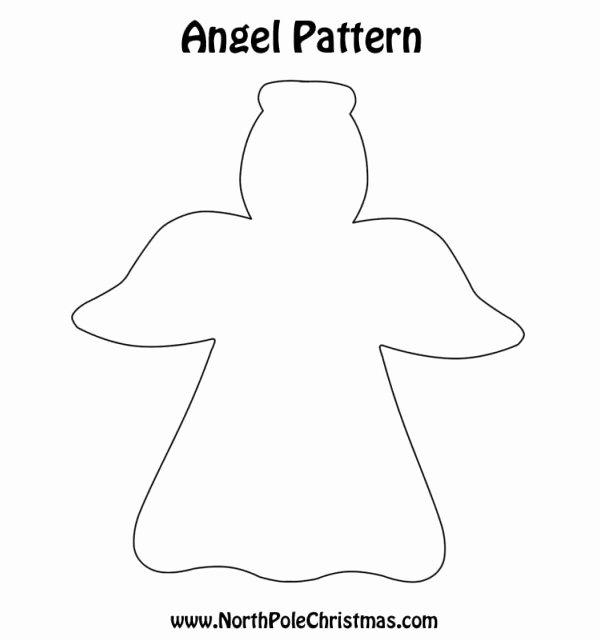 7 Best Of Angel Cutouts Printable Angel Tree Cut