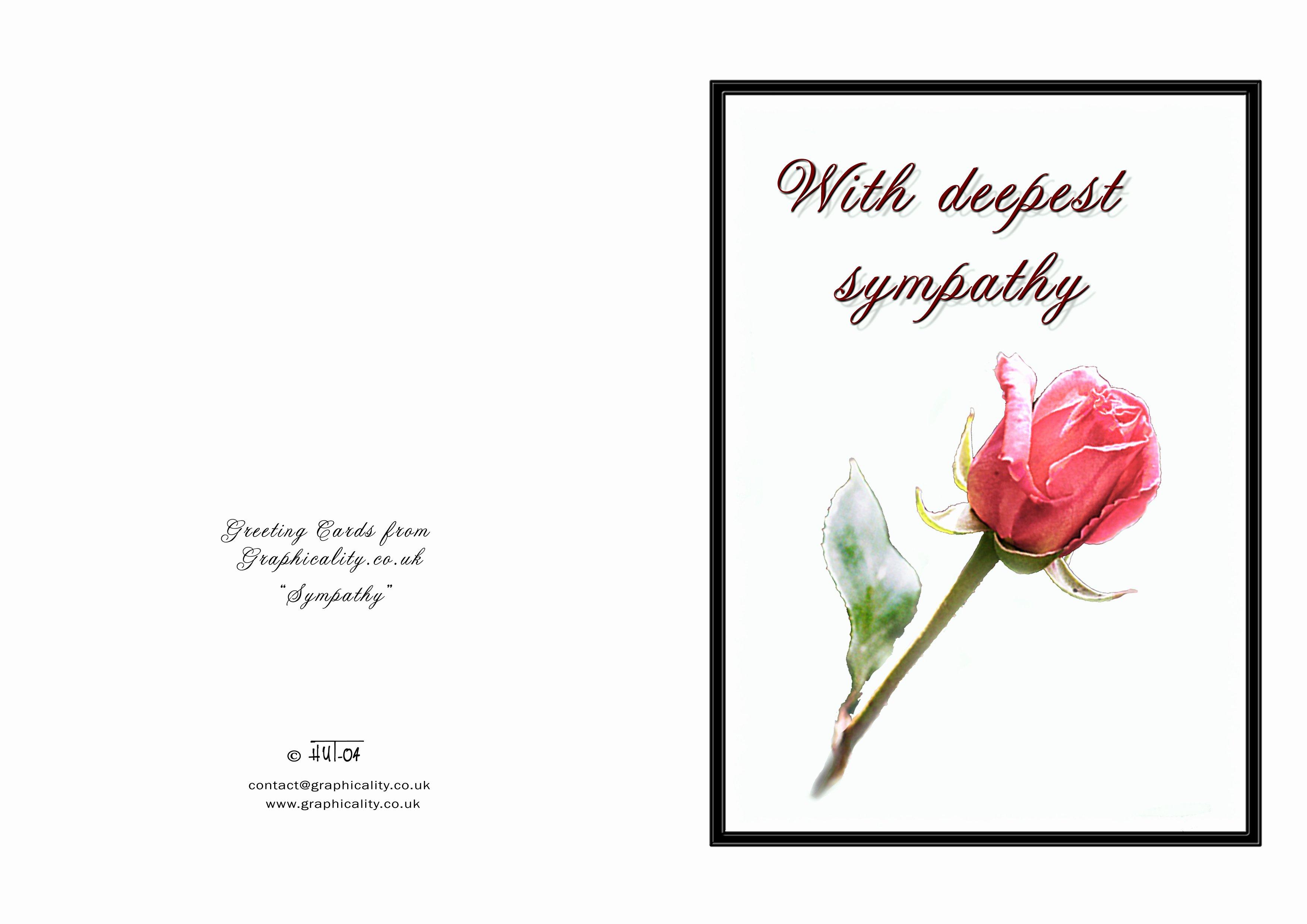 7 Best Of Death Sympathy Card Free Printable