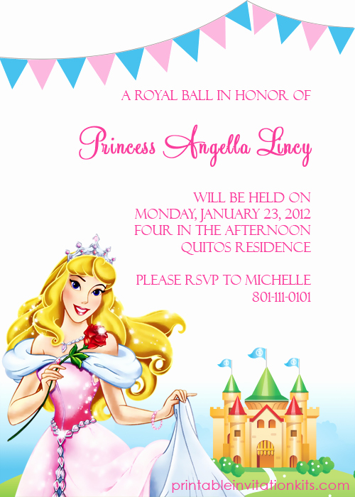 7 Best Of Disney Princess Free Printable Templates