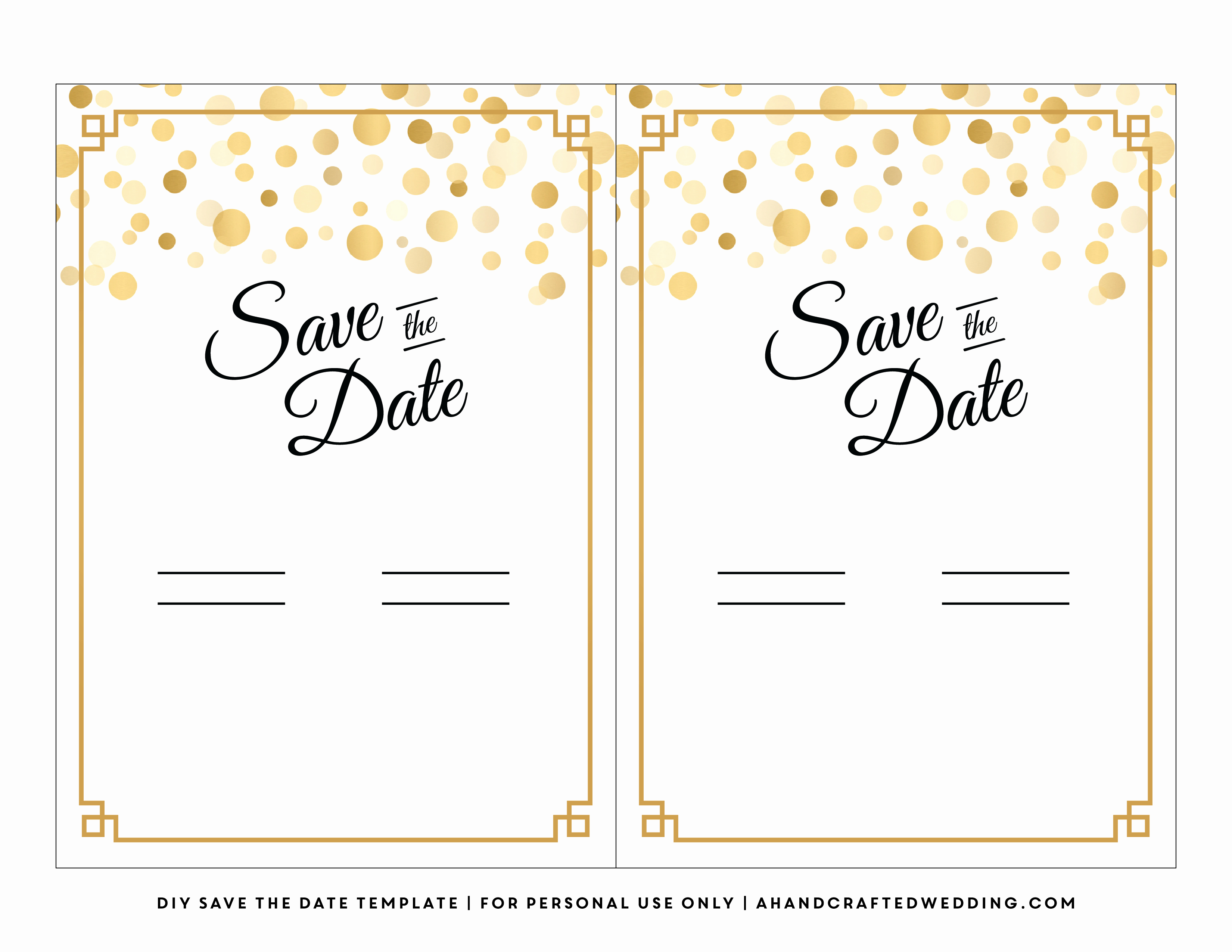 7 Best Of Diy Save the Date Template Halloween