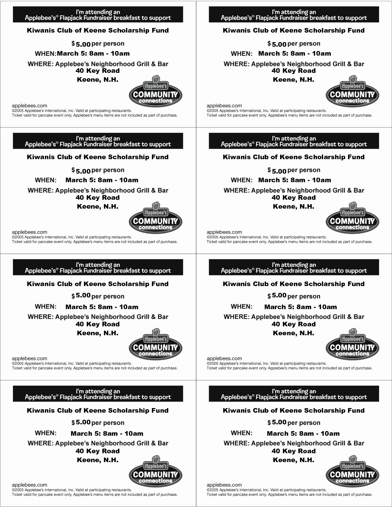 7 Best Of event Ticket Template Printable Free