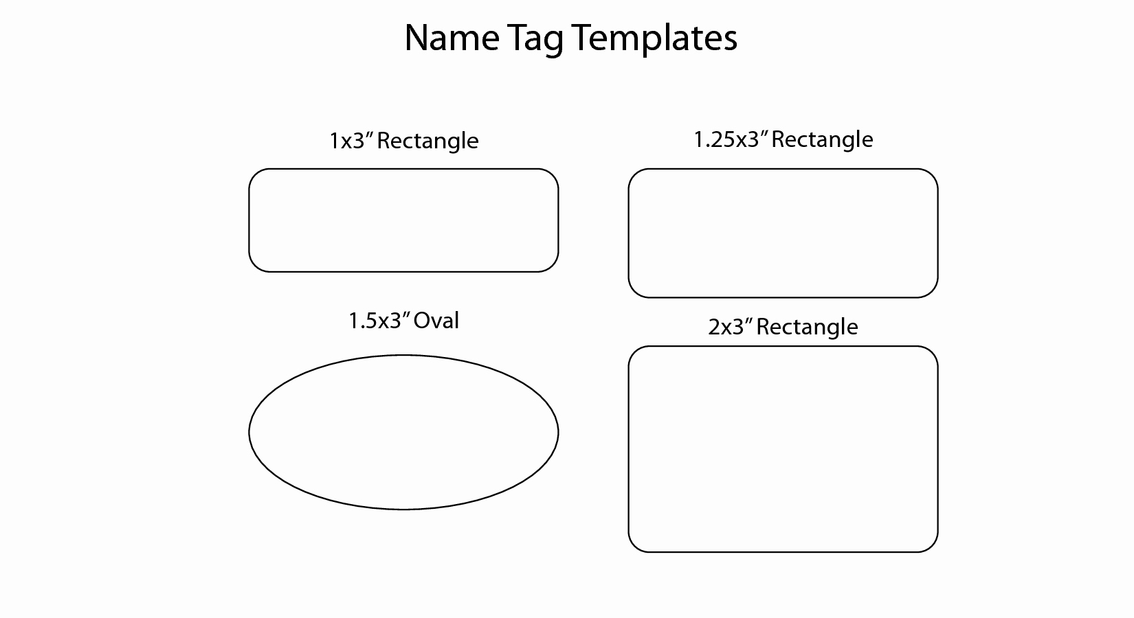 7 Best Of Family Reunion Name Badges Free Printable – Latter