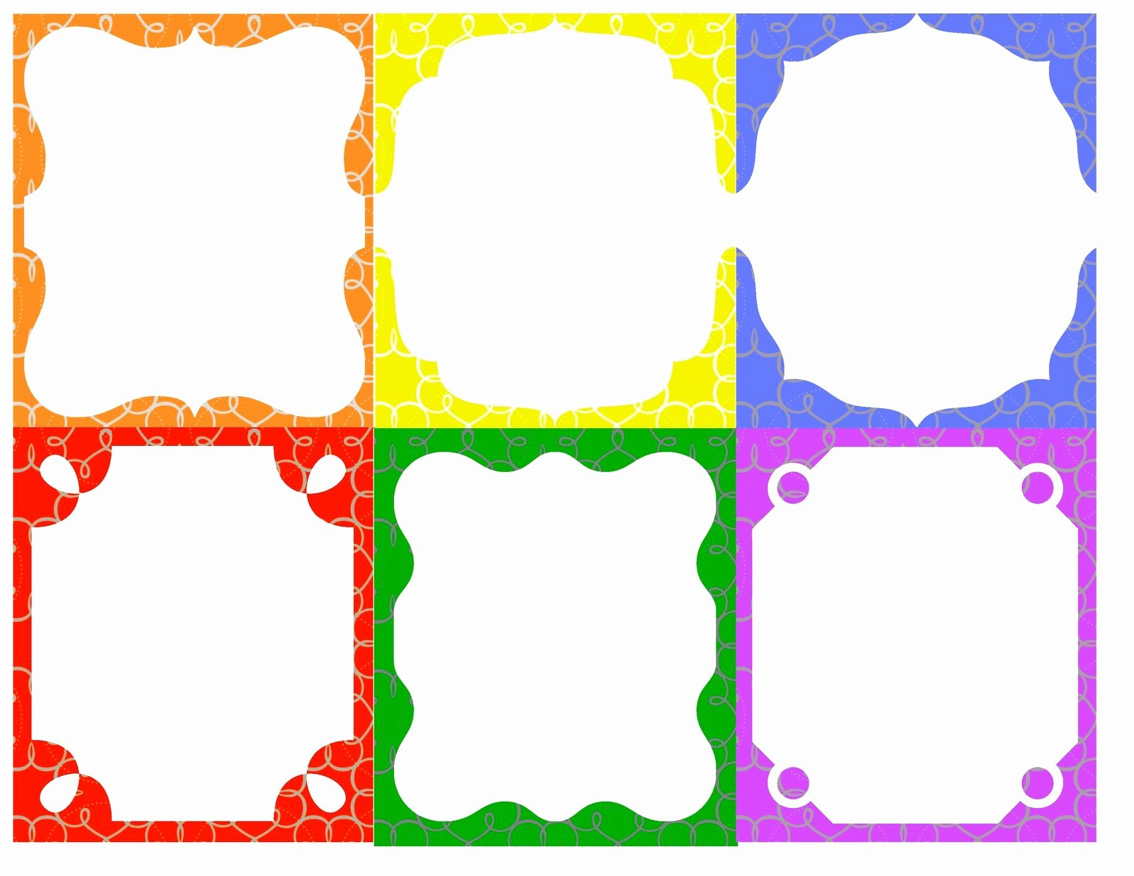 7 Best Of Free Border Templates Printable Badge