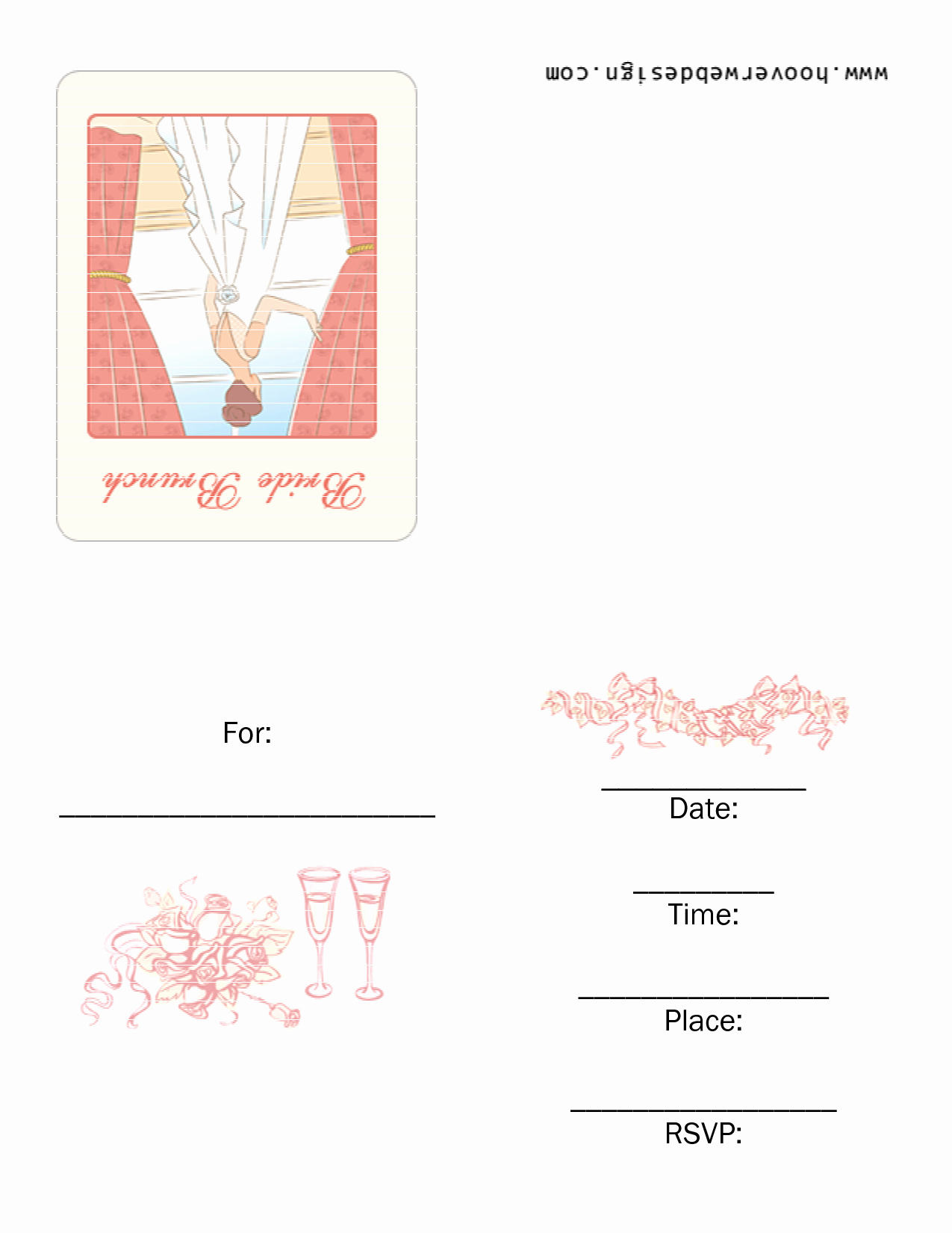 7 Best Of Free Printable Brunch Invitations Free
