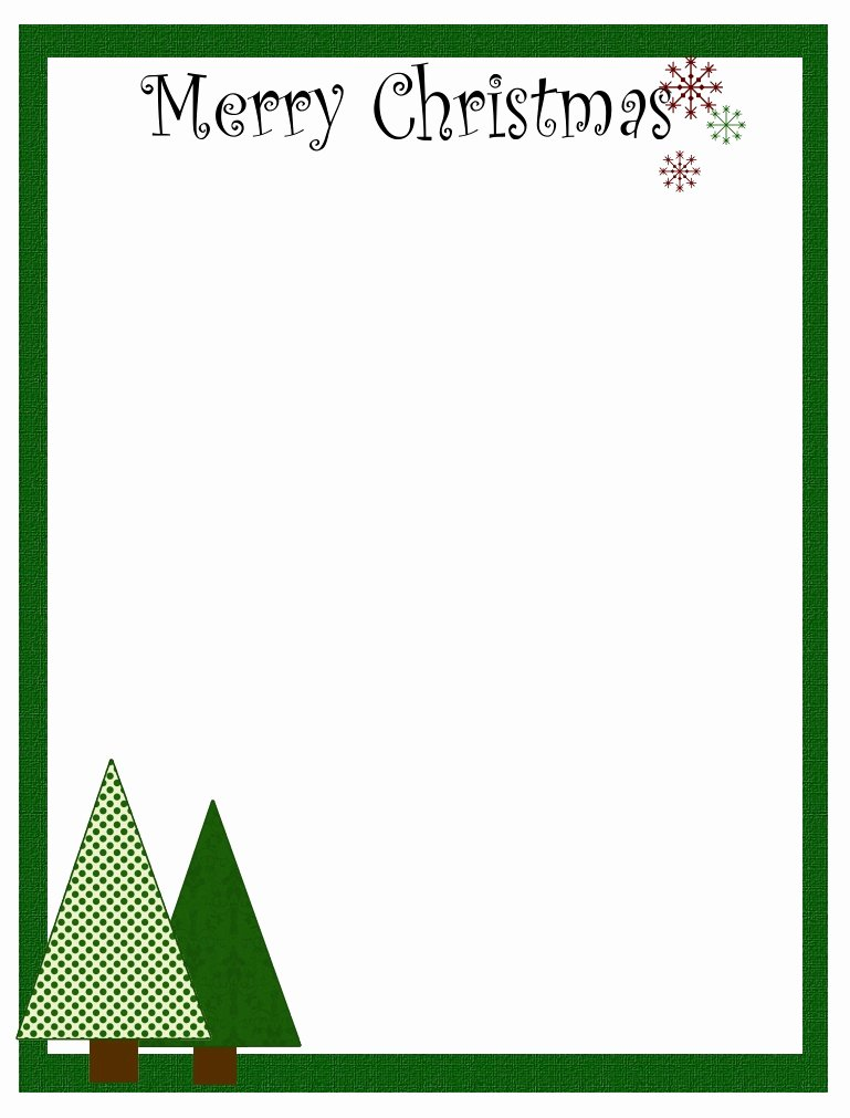 7 Best Of Free Printable Christmas Stationary