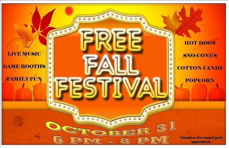 7 Best Of Free Printable Fall Festival Flyer