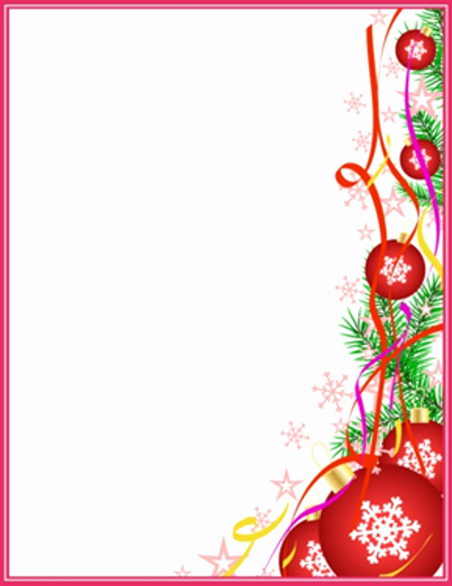 7 Best Of Free Printable Holiday Letter Templates