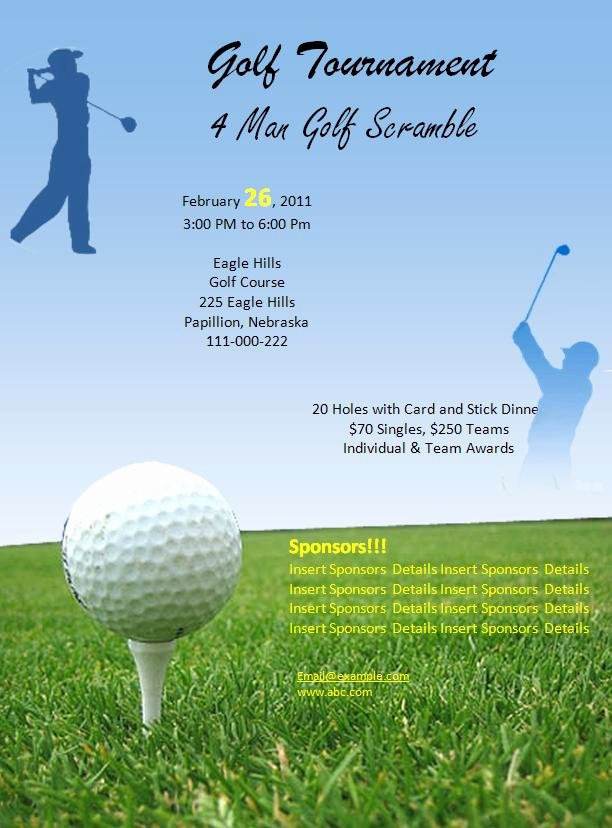 7 Best Of Free Printable Menu Templates for Golf