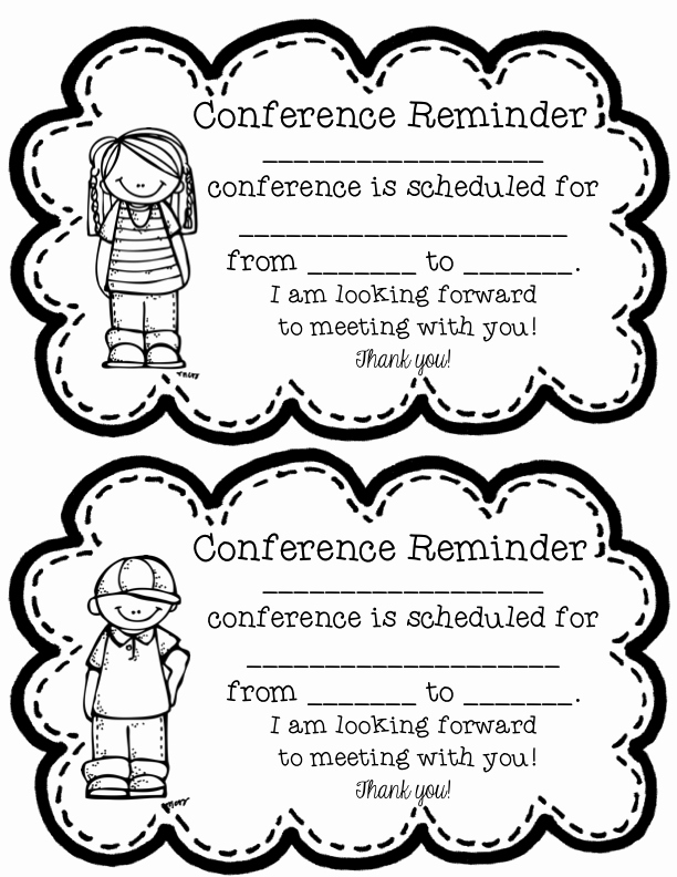 7 Best Of Free Printable Parent Teacher Conference