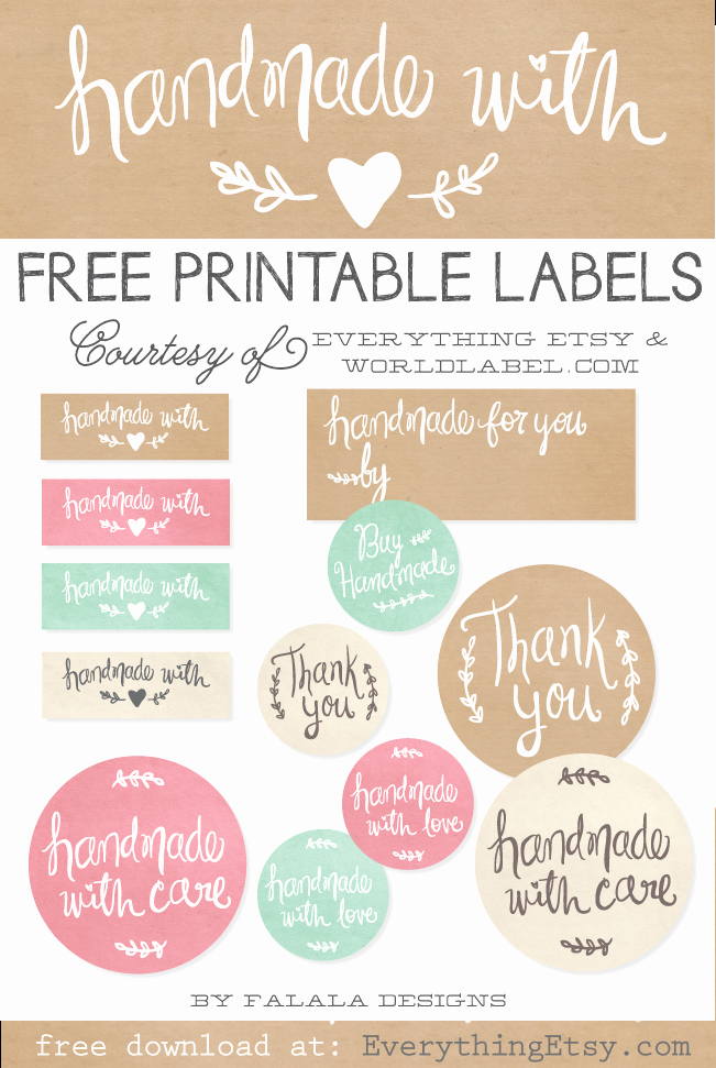 7 Best Of Free Printable soap Label Templates