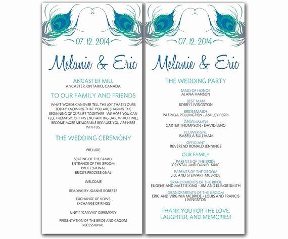 7 Best Of Free Printable Wedding Ceremony Programs