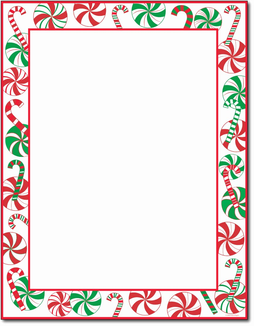 7 Best Of Holiday Stationery Paper Printable Free