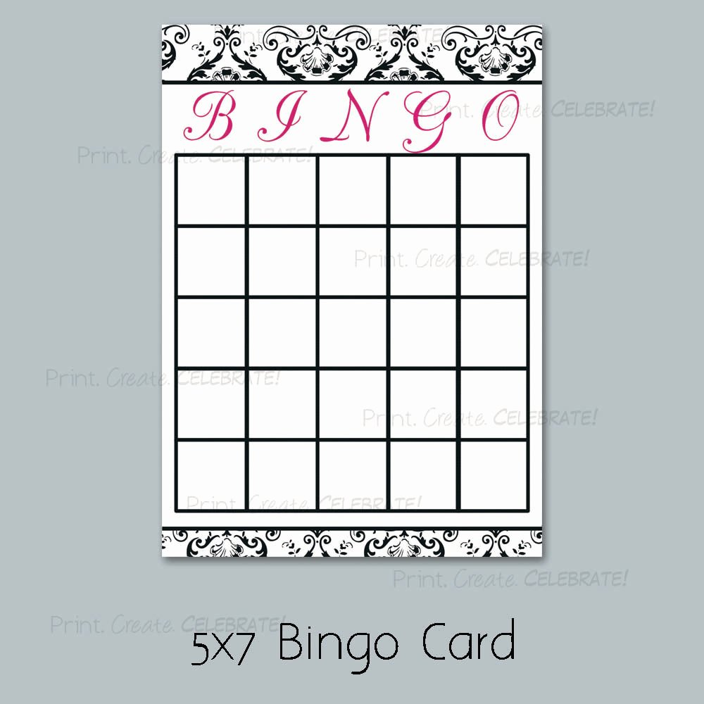 7 Best Of Printable Bridal Bingo Cards Free