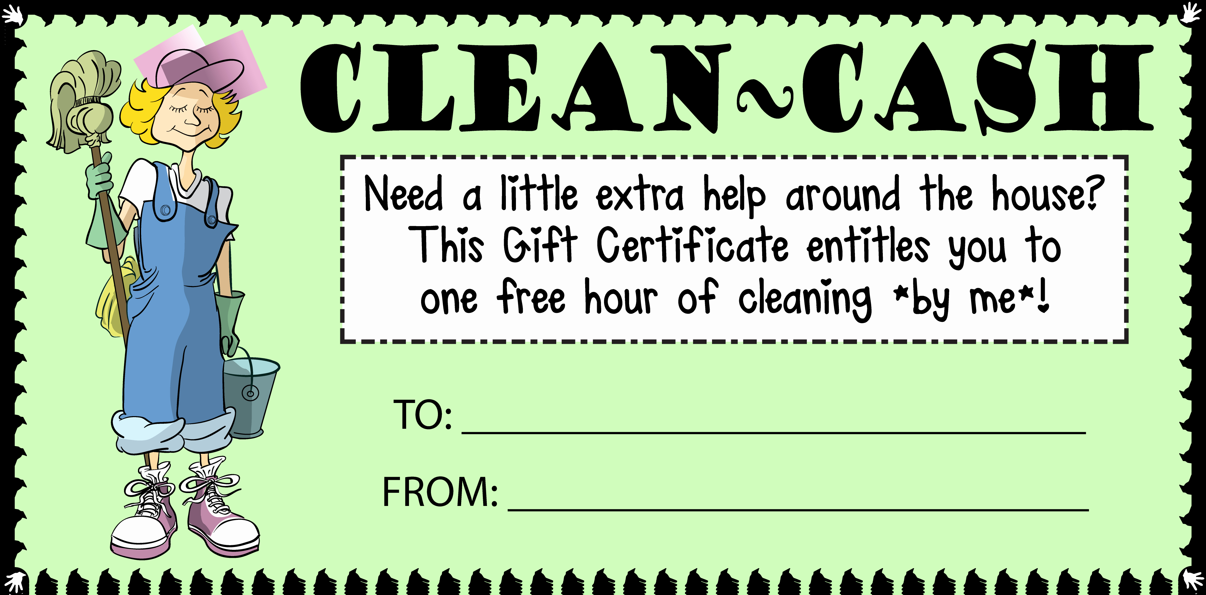 7 Best Of Printable House Cleaning Certificate