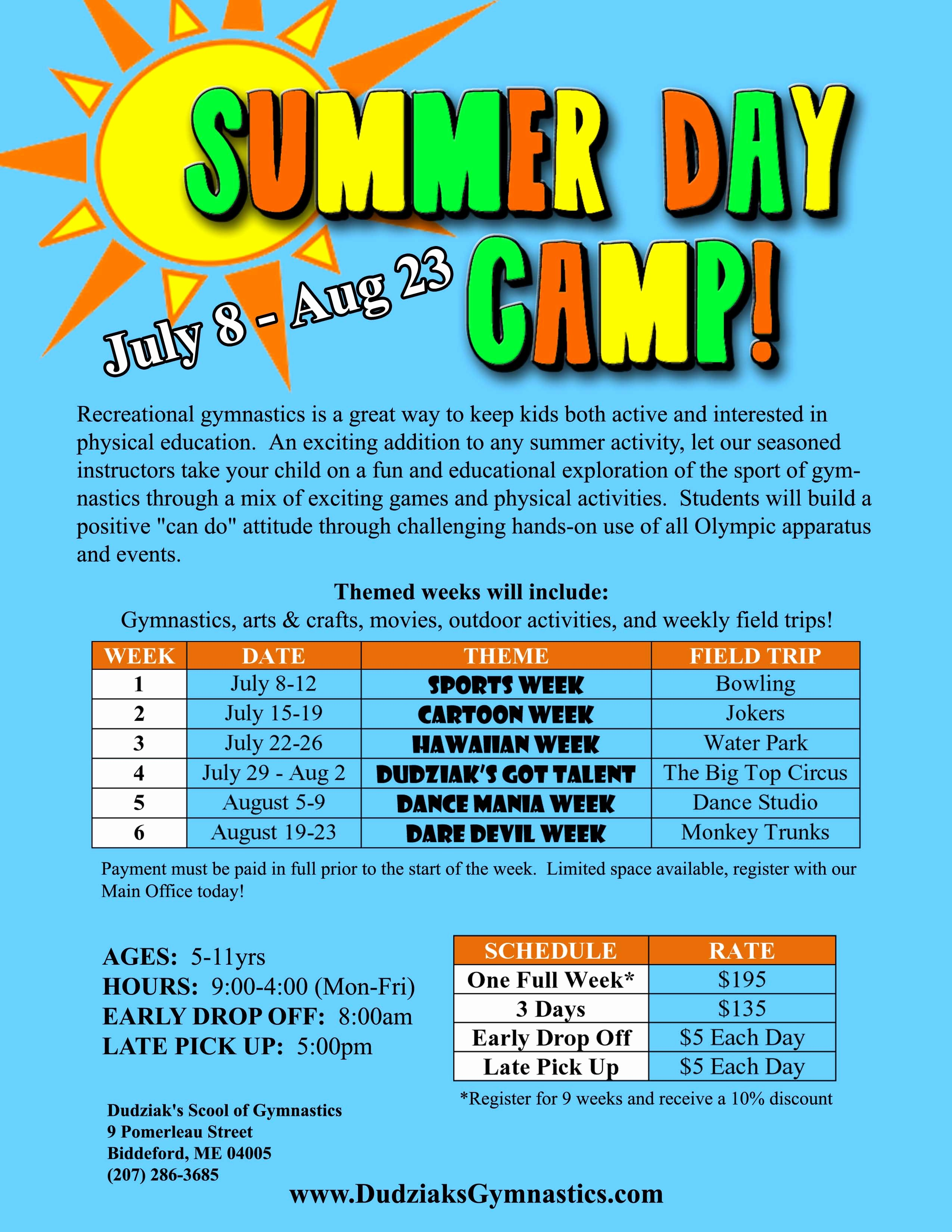 7 Best Of Summer Camp Flyer Ideas Summer Day Camp