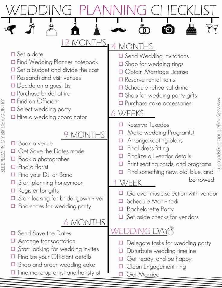 7 Best Of Wedding Director Checklist Printable