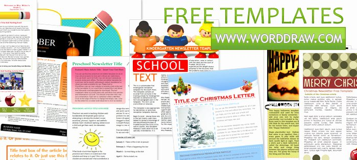 7 Best Of Word Newsletter Templates Free