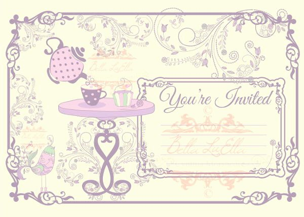 7 Blank Party Invitations Free Editable Psd Ai Vector