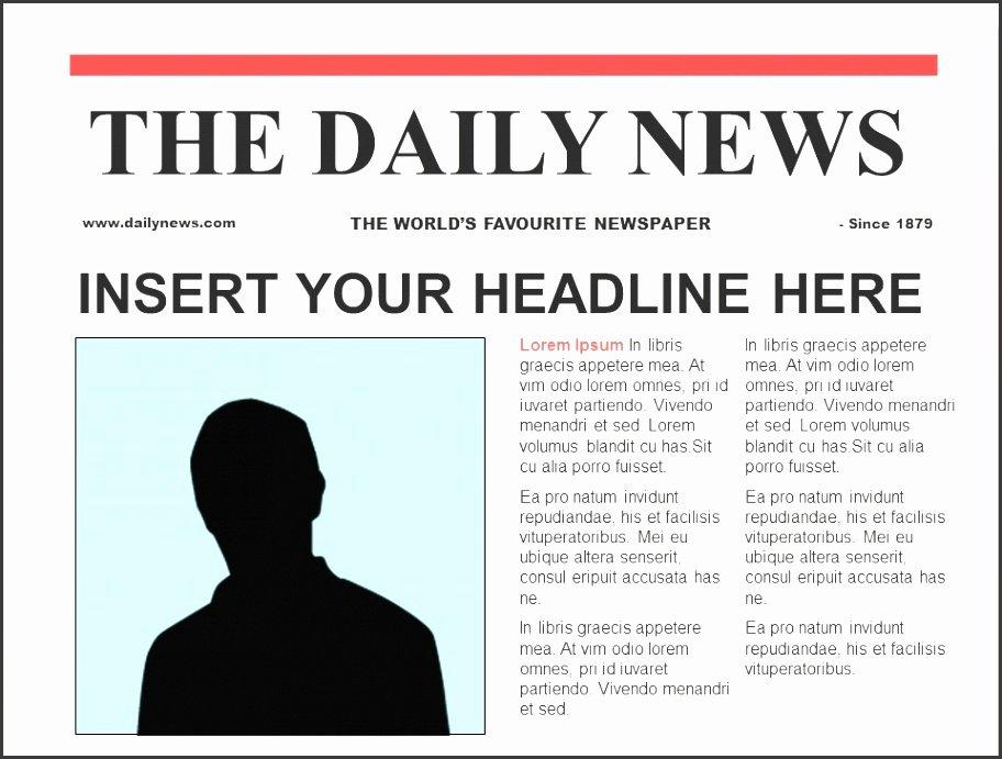 7 Business Newspaper Template Sampletemplatess