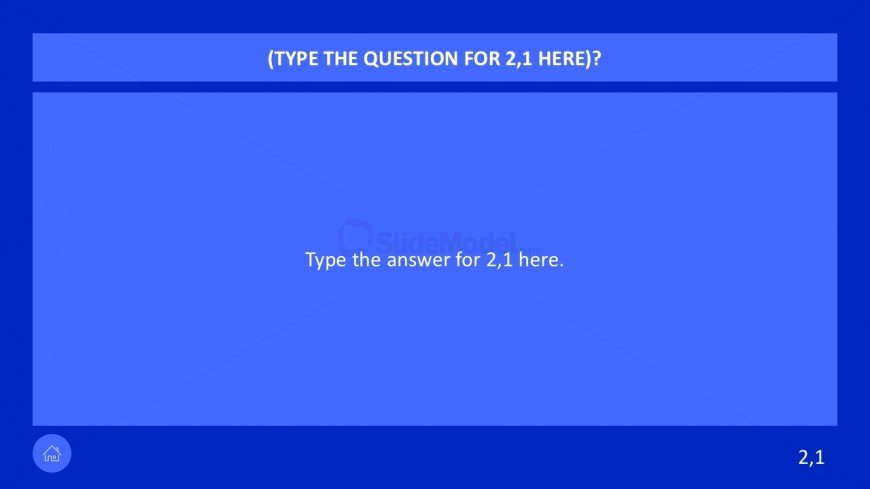7 Category Question Game Show Powerpoint Slidemodel