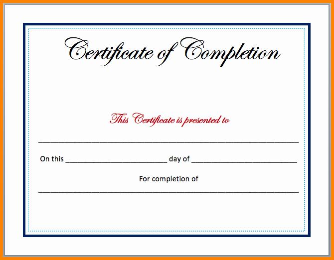 7 Certificate Templates Microsoft Word