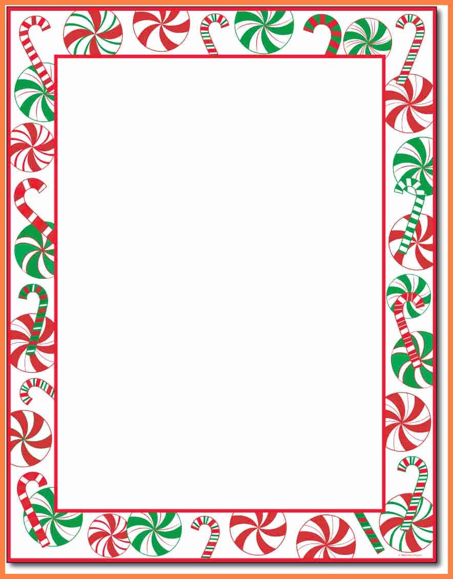 7 Christmas Letterhead Templates Word