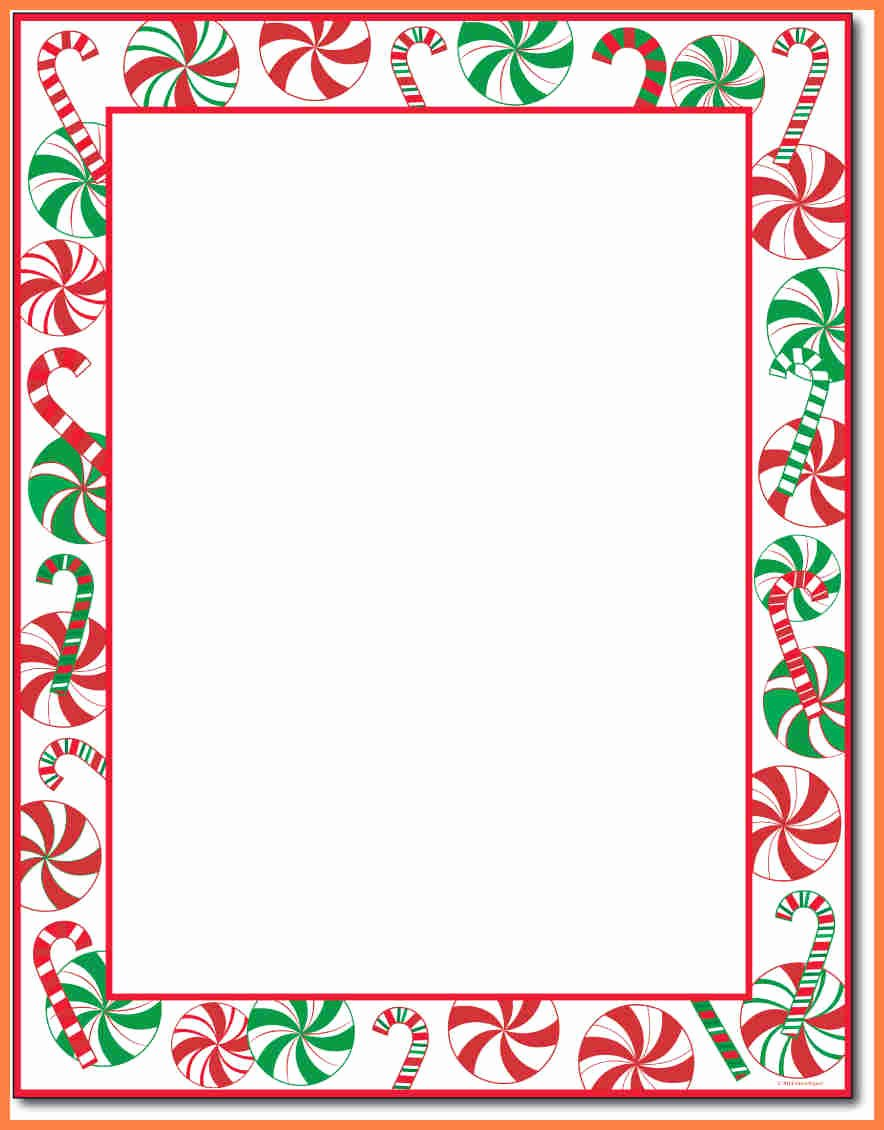 7 Christmas Letterhead Templates Word
