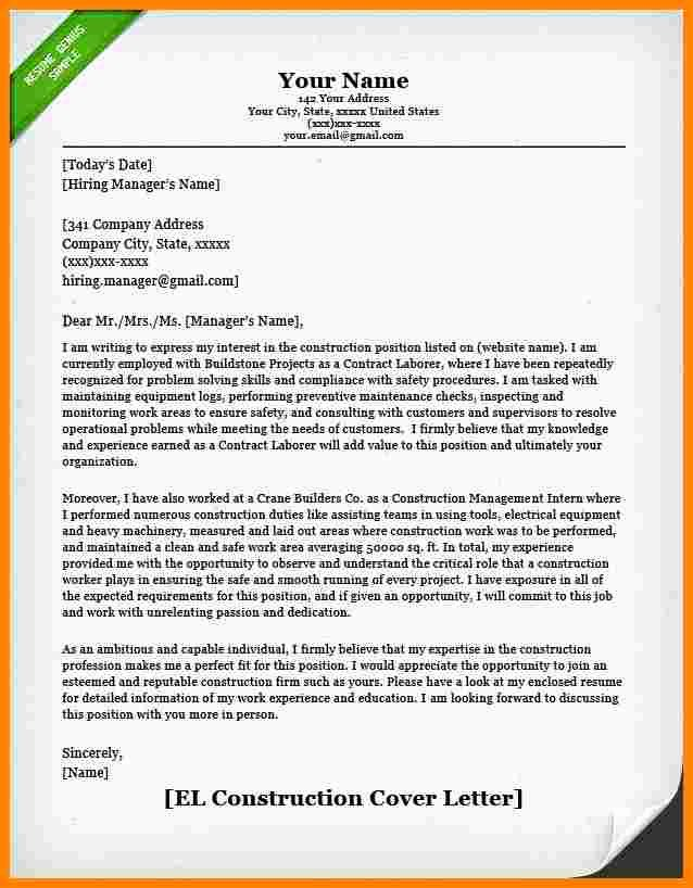 7 Construction Business Introduction Letter