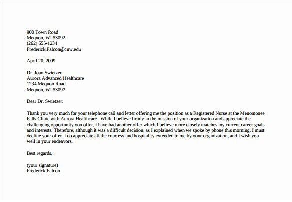7 Counter Fer Letter Templates