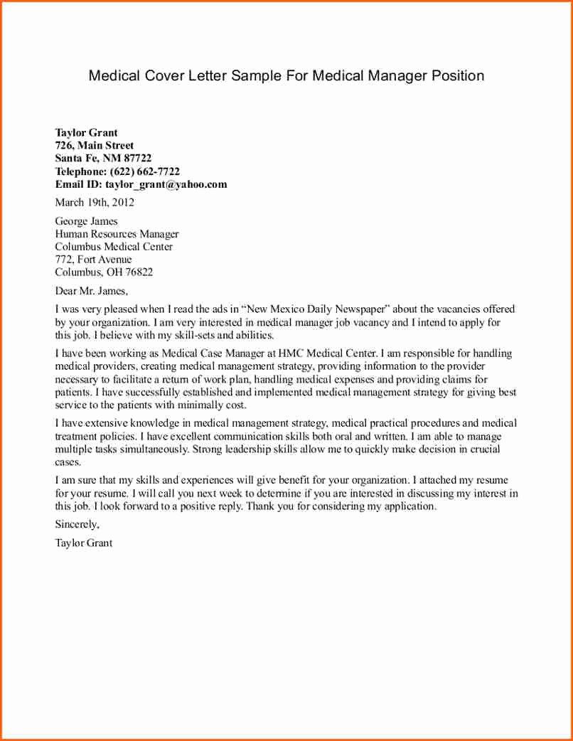 7 Cover Letter Sample for Medical assistant Bud