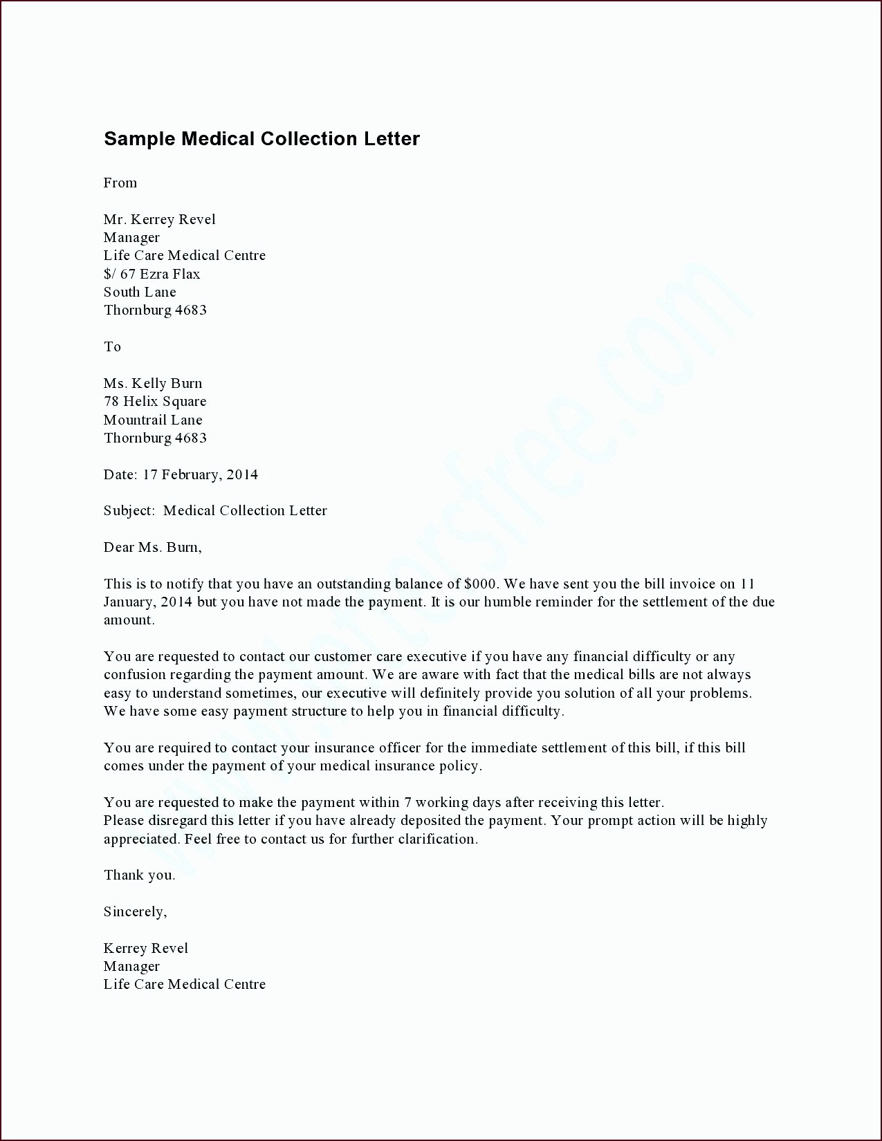 7 Debt Validation Letter Template Template Update234